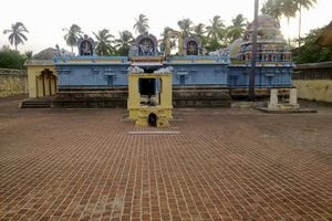 Thiruvalampuram Temple Complex View
