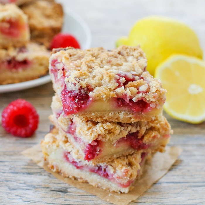photo of lemonade raspberry bars