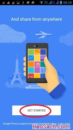 Hình 2 - Sao lưu ảnh với Google Photos trên điện thoại
