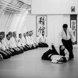 Hiroaki Kobayashi sensei - black belt training at Sunyata oct 2015