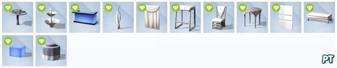 De Sims 4 Luxe Feestaccessoires nieuwe voorwerpen