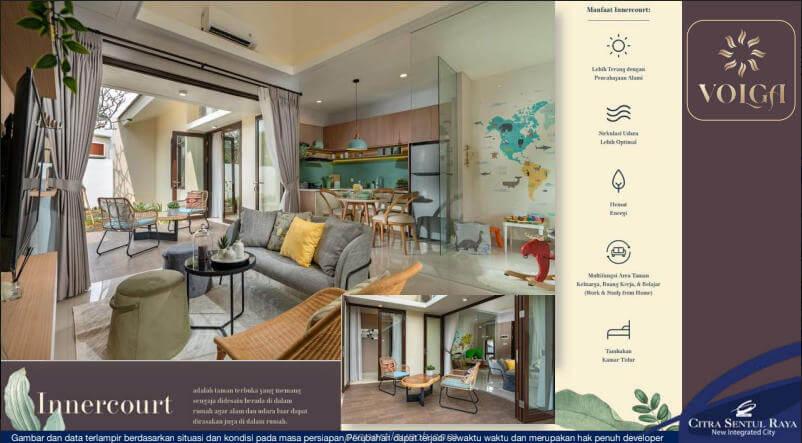 Living Room Rumah Volga