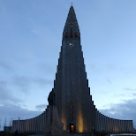 Hallgrímskirkja is a Lutheran (Church of Iceland) parish church in Reykjavik, Hofuoborgarsvaeoi, Iceland