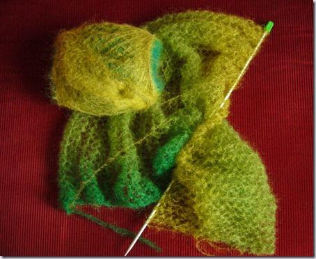 sjaal-breien