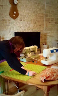 French Village Diaries community sewing sac a tarte