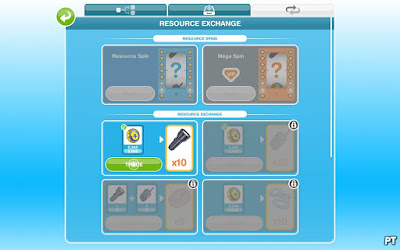 The Sims FreePlay Police Station - trading resources