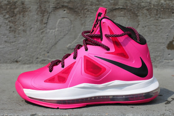 First Look at Fireberry Nike LeBron X in Grade School Sizes