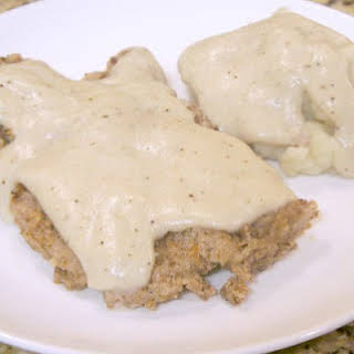 Gluten-free Country Fried Steak.