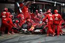 Fernando Alonso pit stop Ferrari F14T