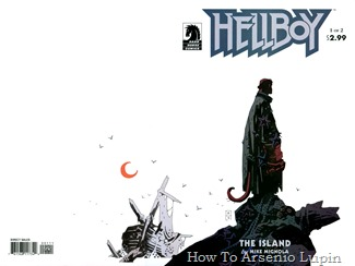 Hellboy - The Island 001 cover [2005] (bittertek-DCP)