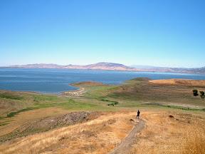 At San Luis Reservoir