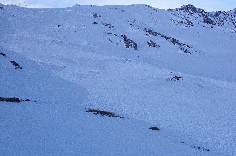 Avalanche Mont Thabor, secteur Petit Argentier - Photo 1