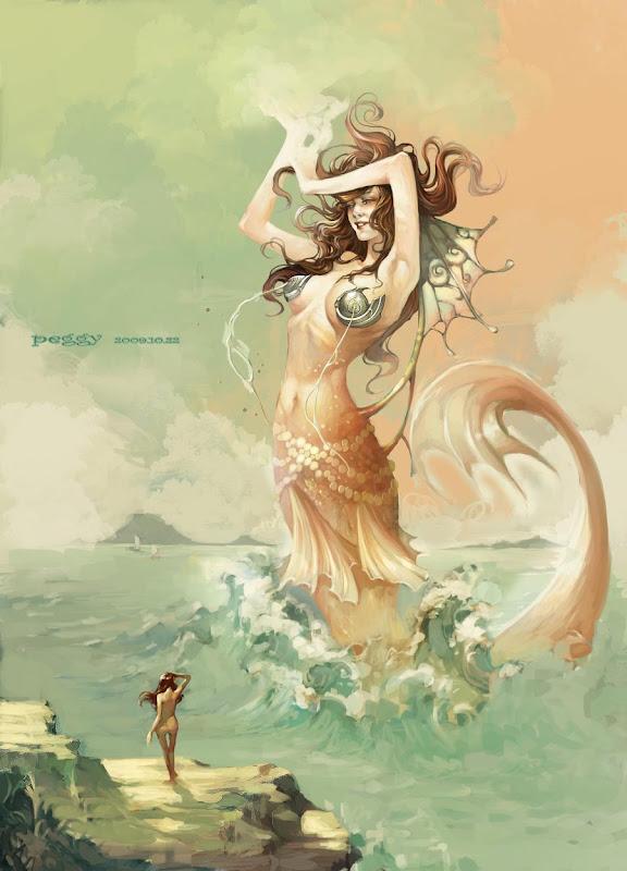 Mermaid By Peggy, Mermaids