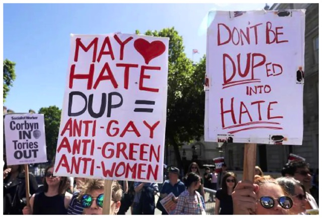 May Hate DUP