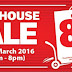 24-27 March 2016 Home-fix warehouse sale
