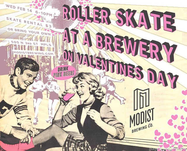 Modist Brewing To Turn Brewery Into Skating Rink for Valentine's Day