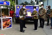 Mentan SYL Lepas Ekspor Ayam Olahan Ke Bangladesh