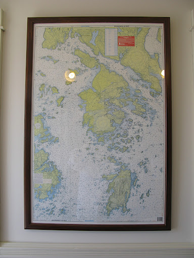 Map of Isle au Haut and Stonington