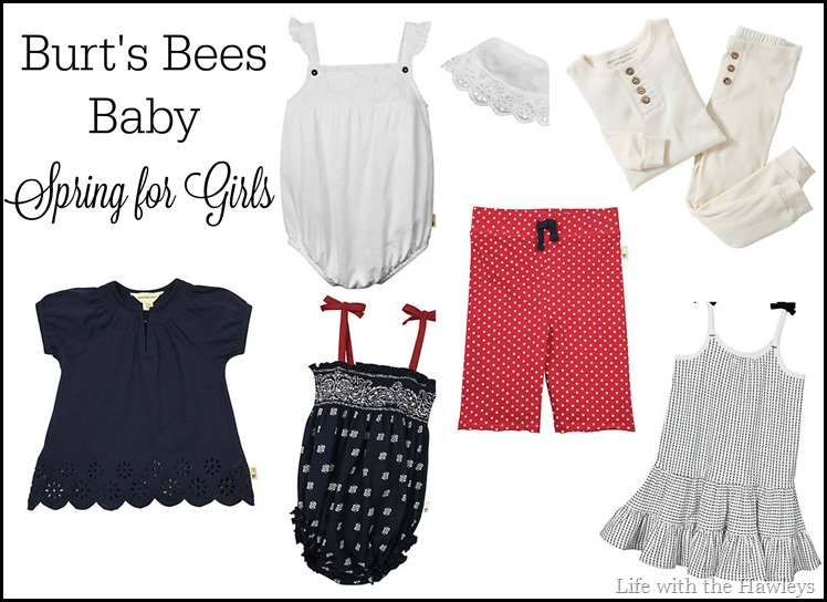 Burts Bees Baby Spring for Girls
