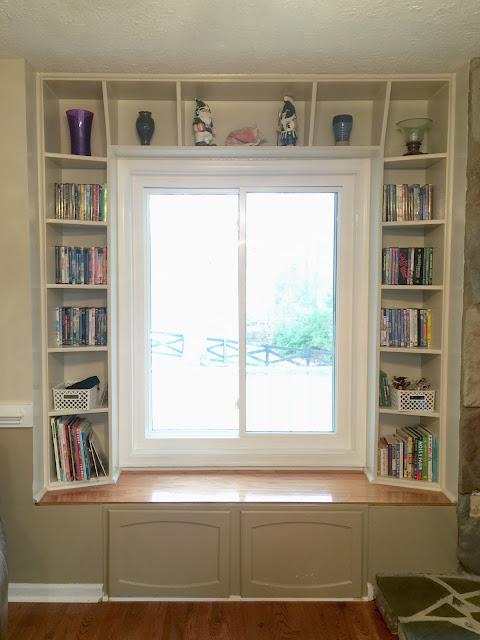 Built In Bookshelf Around Existing Window Tutorial