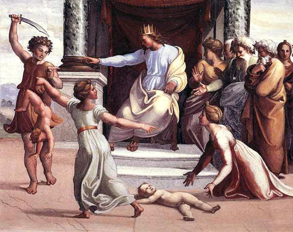 King Solomon Split Splitting Baby, King Solomon