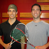 Open 4.0: Champion - Michael Wegman (Boston Squash Club-Allston); Finalist - Scott Marimow (University Club)