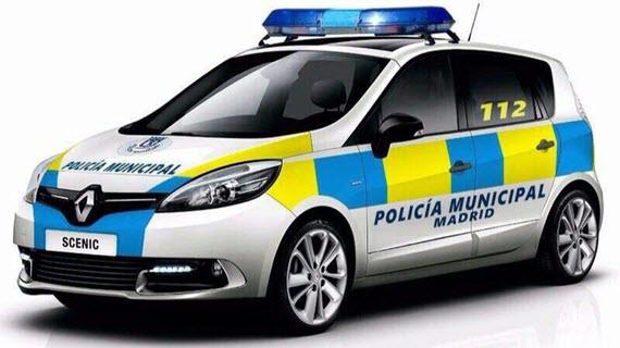 115 nuevos vehículos para la Policía Municipal con nuevos colores