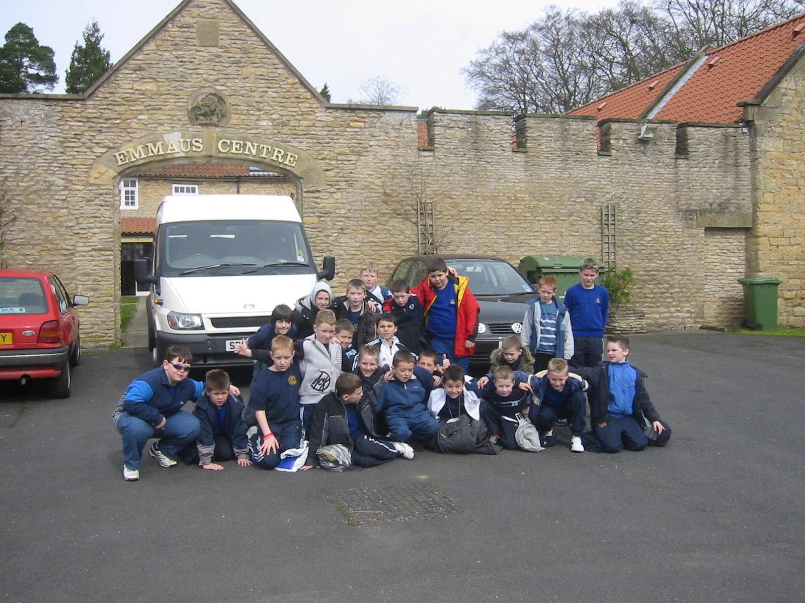 A previous 167 group at The Emmaus Centre.