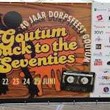 Playbackshow, feesttent, dorpsfeest Goutum