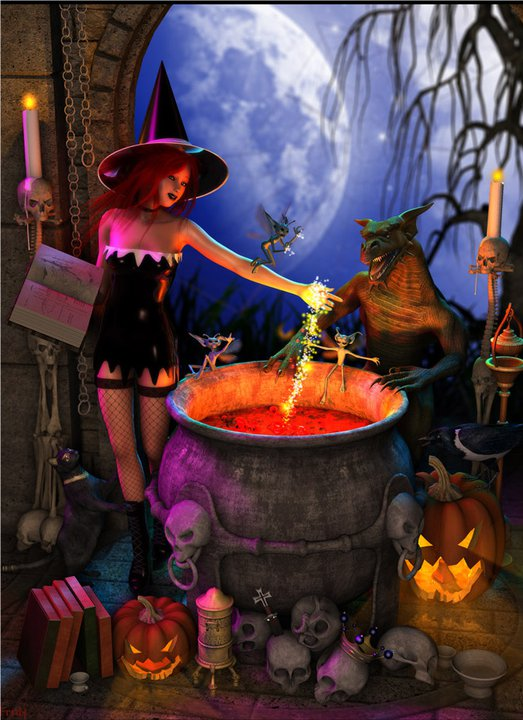 Magic Wiccan Spells, Wicca Girls