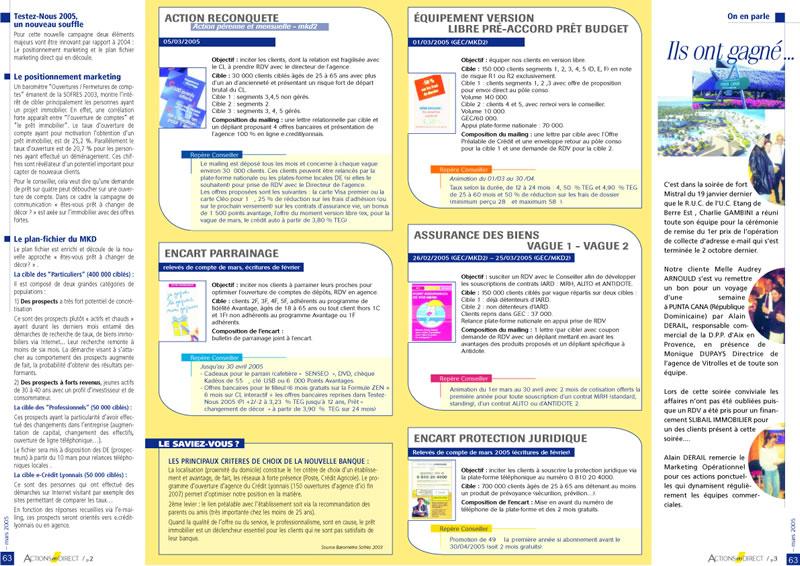 magazine CREDIT LYONNAIS 2 -SansException