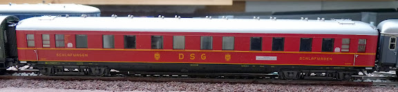 Märklin 42942: Uitbreidingsset Riviera Express Schürzen Schlafwagen