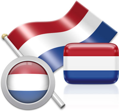 Dutch flag icons pictures collection