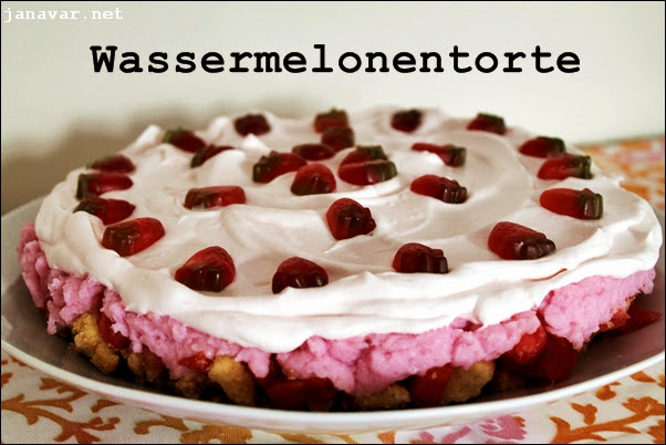 My 7 favorite summer recipes - Wassermelonentorte
