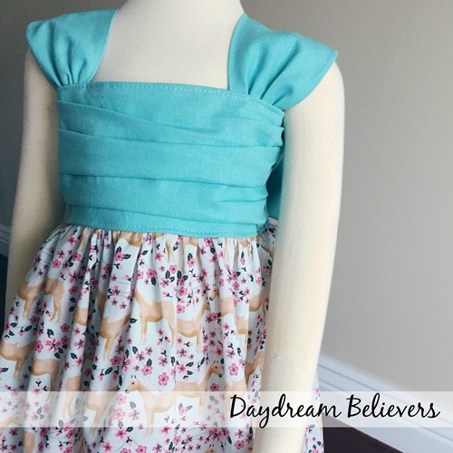 Girls Horse Birthday Dress by Daydream Believers