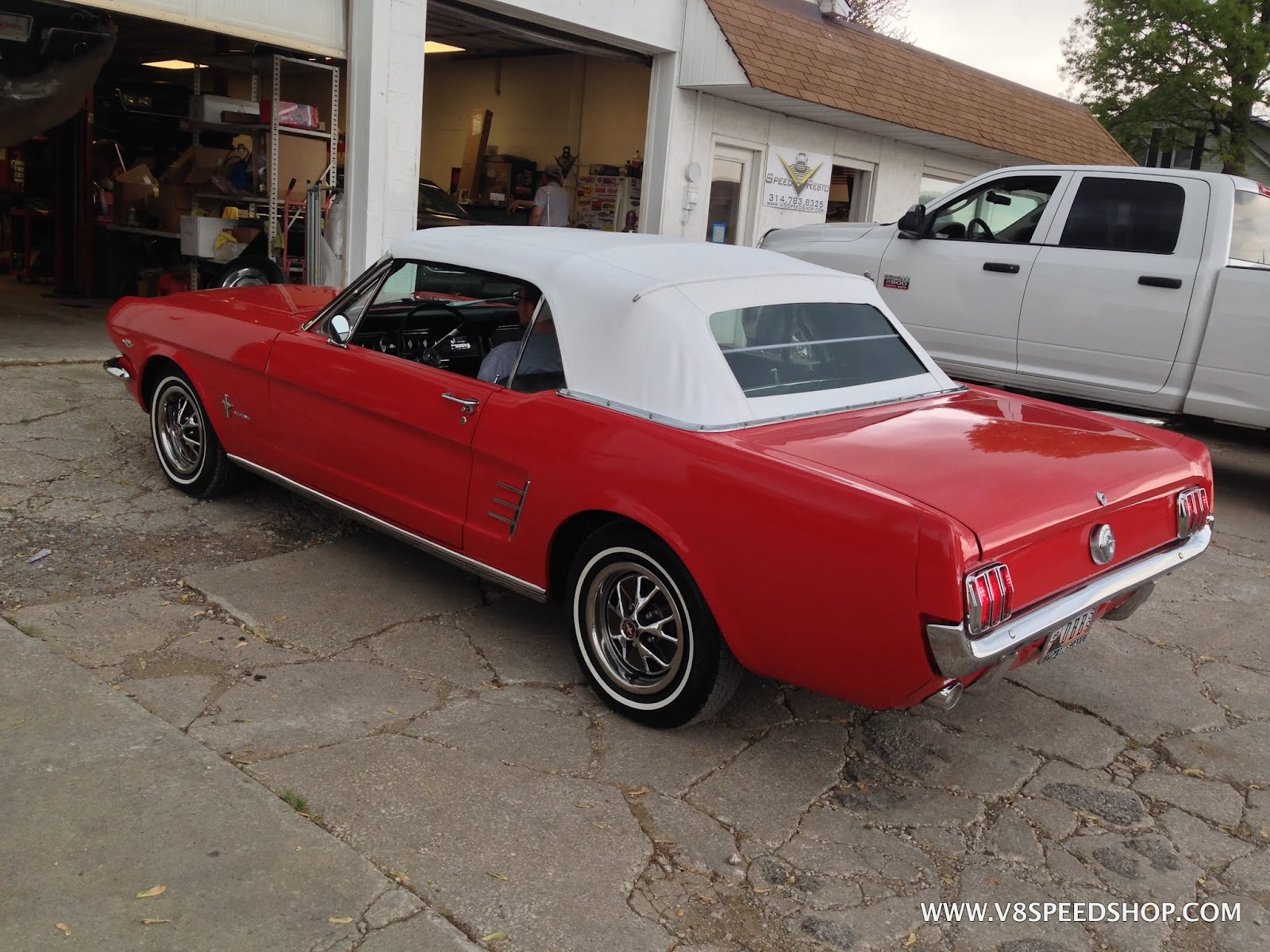 1966 Mustang After