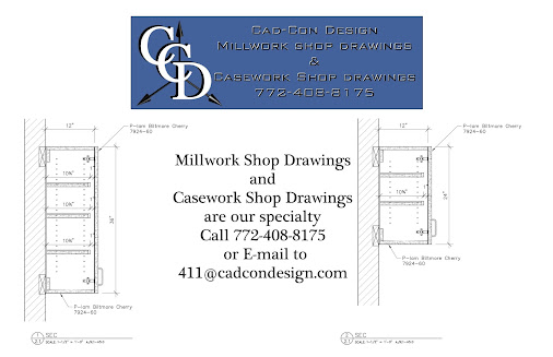 Millwork Shop Drawings are our specialty. Call 772-408-8175. Feel free to send…