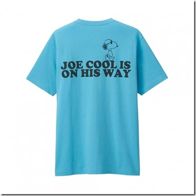 UNIQLO X PEANUTS MEN T SHIRT - JOE COOL IS ON THE WAY 02