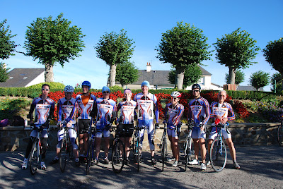 Team photo before ride on Saturday