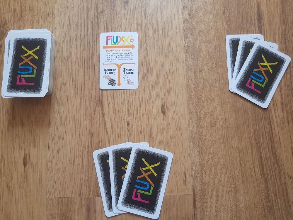 Fluxx - przygotowanie rozgrywki