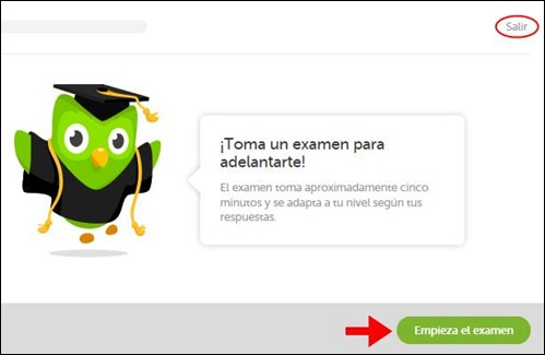 Abrir mi cuenta Duolingo - 540