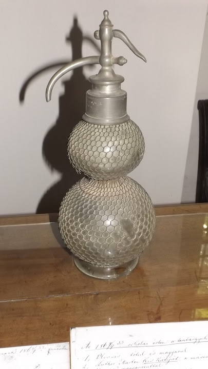 A hónap műtárgya a penci múzeumban - Egy szódásüveg