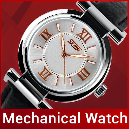 Fashion Brand Genuine Leather Strap Women Dress Watches