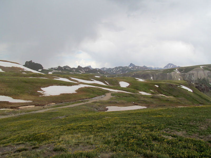 Photo: Wetterhorn and Uncompahgre on the horizon