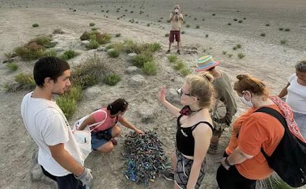 Χαλκιδική : 10 κιλά φυσίγγια μαζεύτηκαν από υγρότοπο όπου είχαν βρεθεί νεκρά φλαμίνγκο