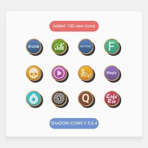 Shadows – Icon Pack 5.1.4 APK + MOD Download 1