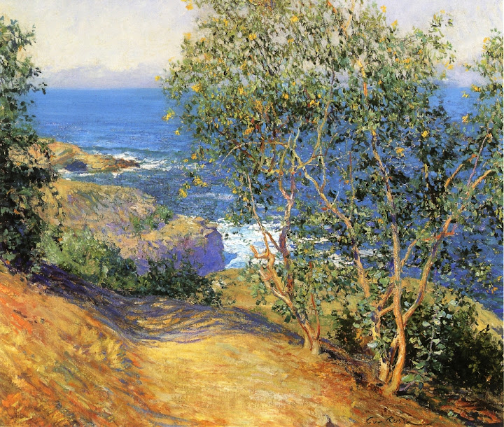 Guy Orlando Rose - Indian Tobacco Trees, La Jolla
