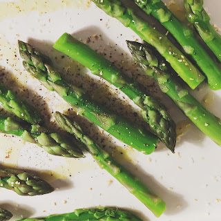 Oven-Roasted Asparagus with Garlic Recipe