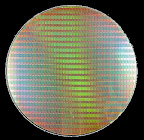 Silicon wafer for the chip making industry