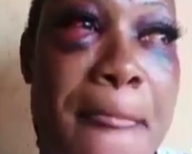 Battered kidnap victim shares her horrific experience in the kidnappers' den, including watching other victims get brutally killed (video)